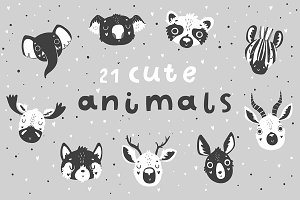 Scandi Animals Set - Vol.2 ♥