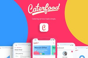 Caterfood UI Kit Catering Service
