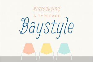 Baystyle typeface