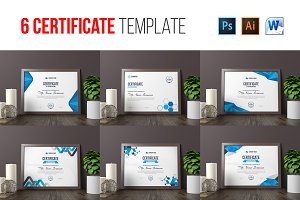 6 Certificate Template