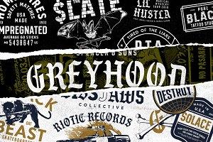 S&S GreyHood Font Bundles (30%Off)
