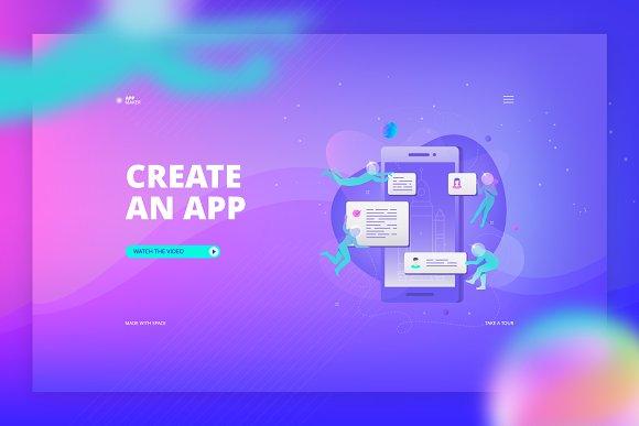 App Development Banner
