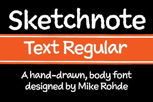 Sketchnote Text Regular