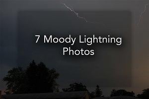 7 Moody Lightning Photos