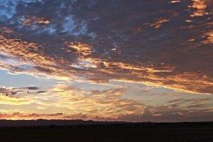 3 Desert Sky Panoramas