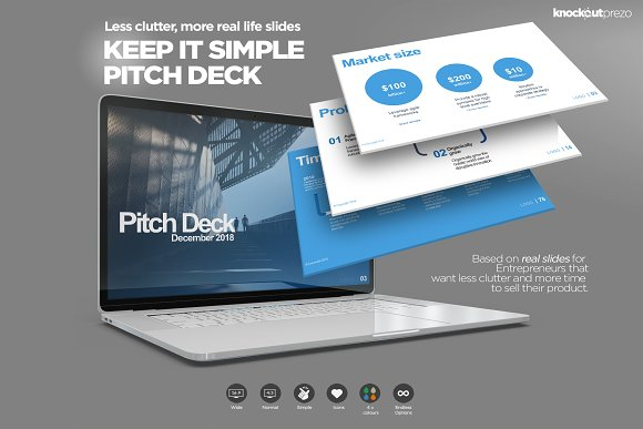 Keep It Simple Pitch Deck