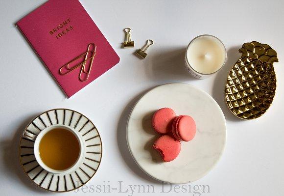 Feminine Pink Notebook Office