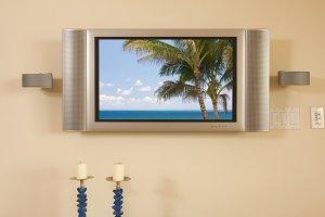 LCD TV & Speakers