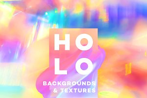 Holographic Backgrounds & Textures