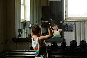 Fitness kid