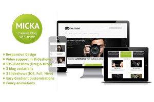 Micka - a Responsive Blog Template