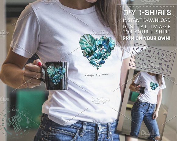 Ladies T-Shirts Design Digital Print