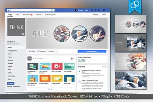 THiNK Business Facebook Cover