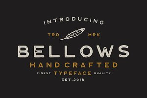Bellows Typeface