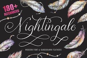Nightingale script & bonus clip arts