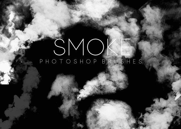 Smoke Photoshop Brushes