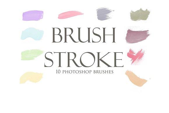 Paint Brush Photoshop Brushes