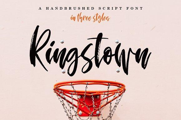 Ringstown Font Pack