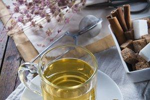 Mentha pulegium or pennyroyal tea