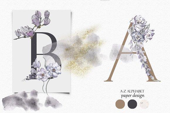 Spring Mood Alphabet Graphics Bundle