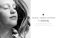 FINE ART BLACK + WHITE PS ACTIONS by FOTO RX CO in Actions