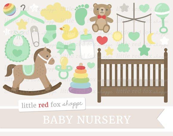 Baby Nursery Clipart