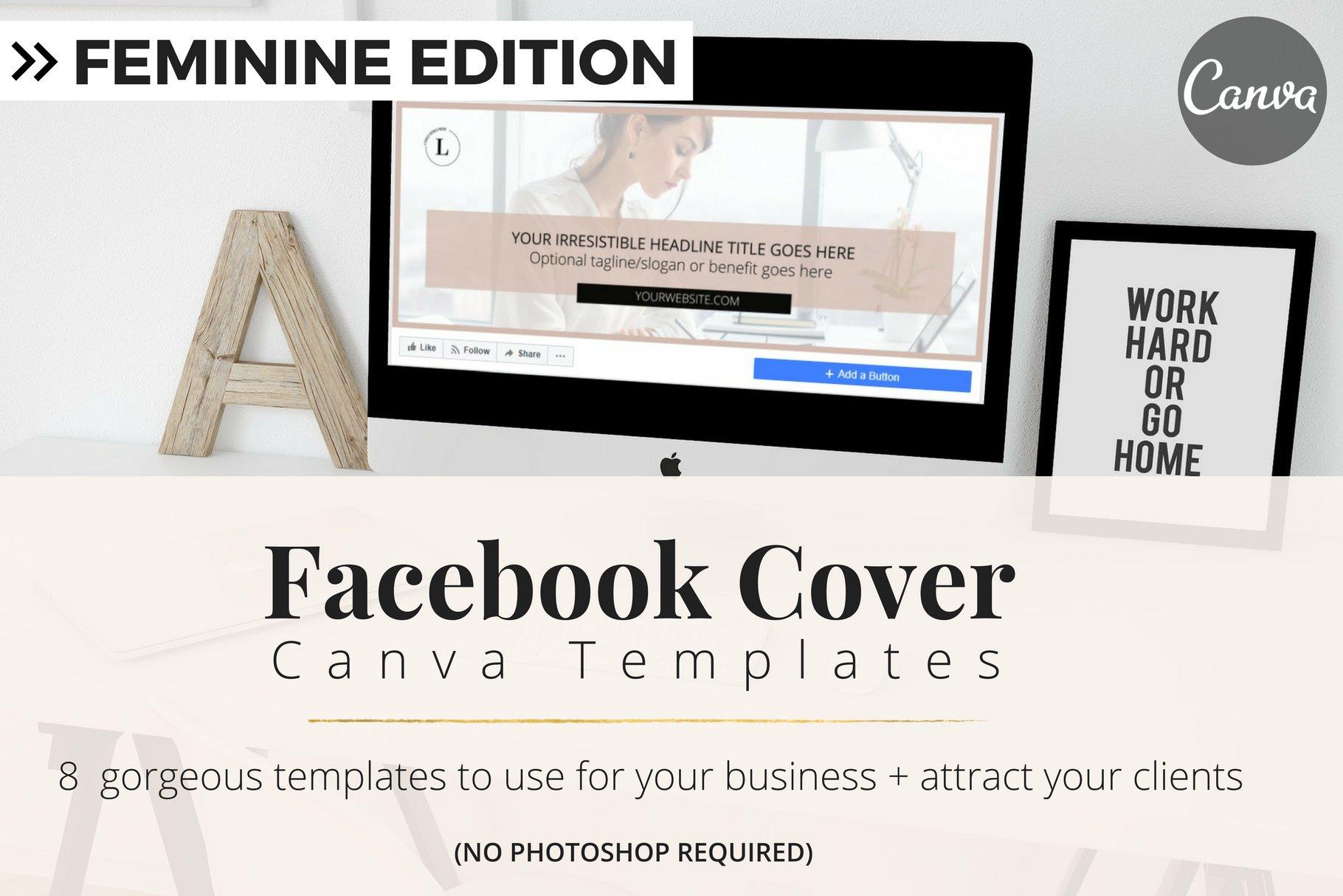 Facebook Cover Templates Facebook Templates Creative Market