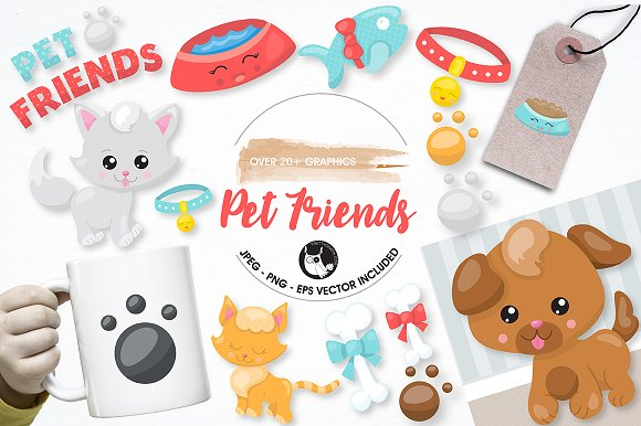 Pet Graphics And Illustrations