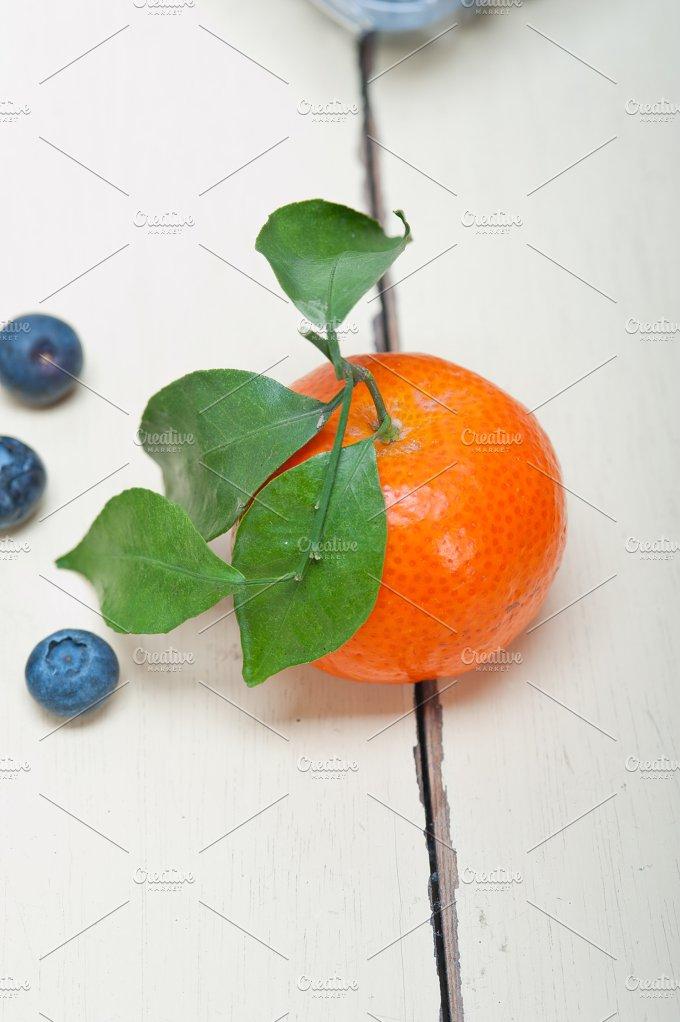 blueberry and tangerine orange 001.jpg - Food & Drink