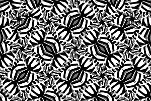Modern Tribal Bold Seamless Pattern