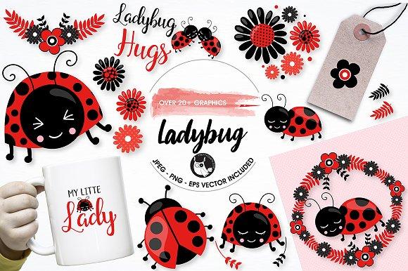Ladybug Graphics And Illustrations