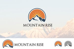 High Mountain Sunrise Adventure Logo