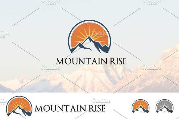 High Mountain Sunrise Adventure Logo