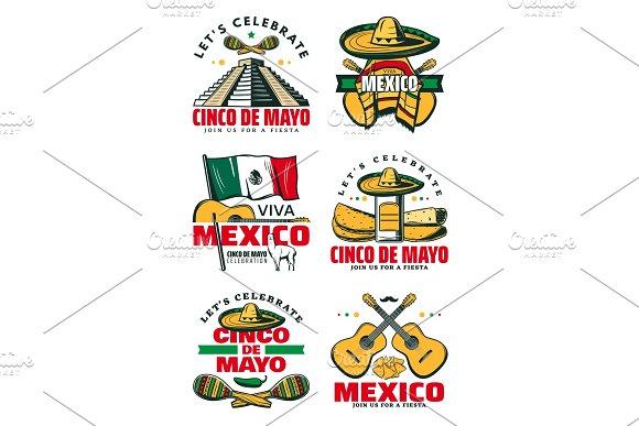 Mexican Holiday Symbol For Cinco De Mayo Party