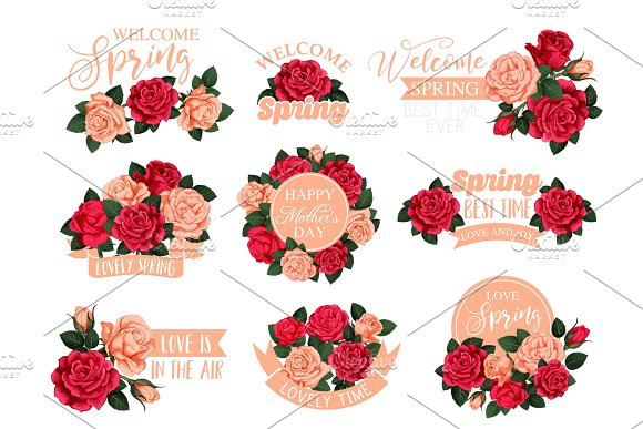 Flower Bouquet With Ribbon Icon For Mother Day