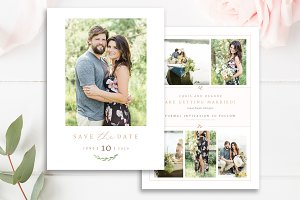 Save the Date Photo Card Template