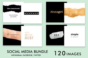 Social Media Bundle - Simple 120