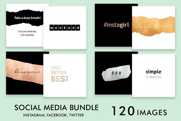 Social Media Bundle Simple 120