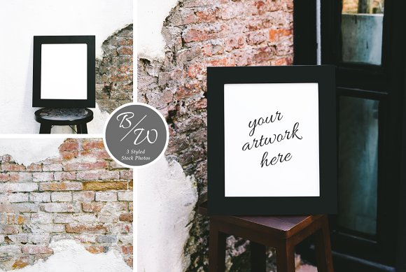 Loft Frame Styled Stock Photo