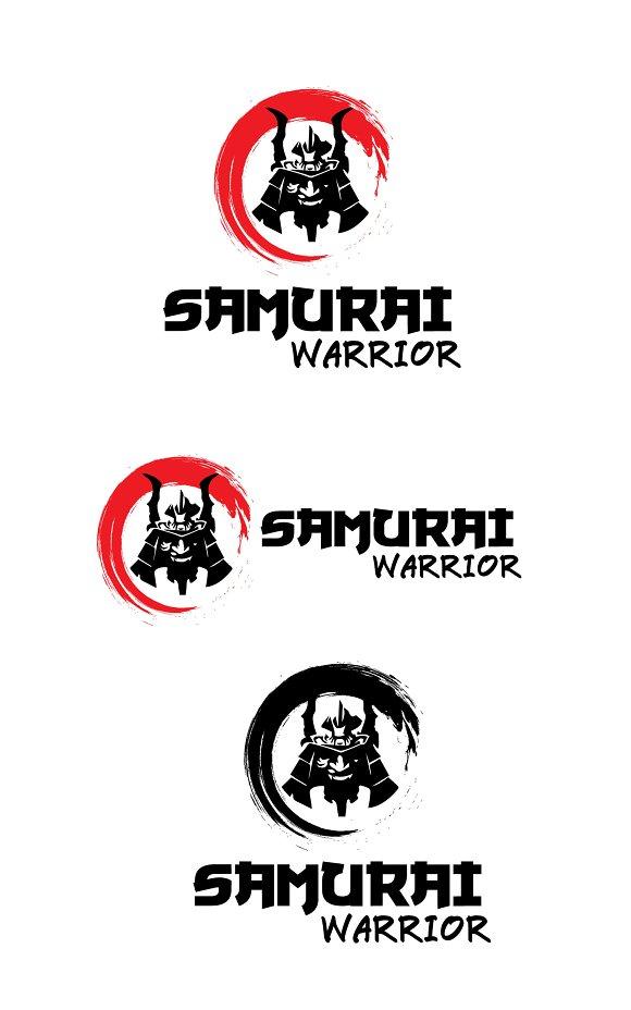 Samurai Warrior Logo