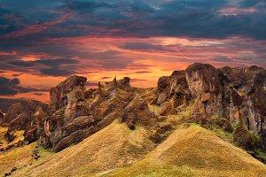 Iceland Sunset Fantasy