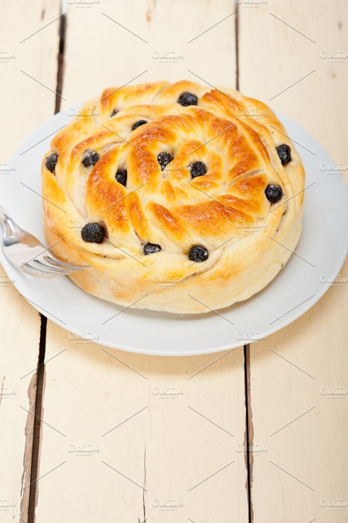 blueberry bread cake JPG018.jpg - Food & Drink