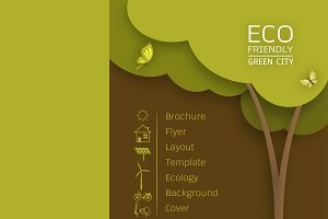 Flyer Design Layout  Ecology