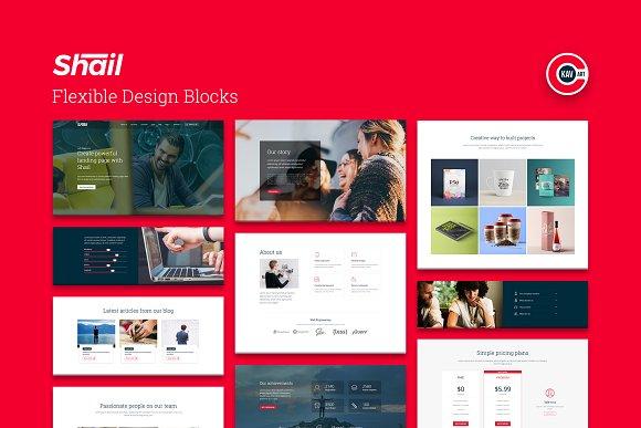 Shail Startup HTML Template