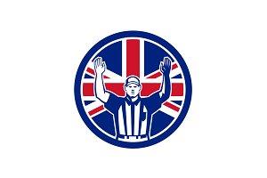 British American Football Referee Un