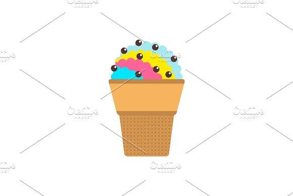 Icecream Waffle Cup