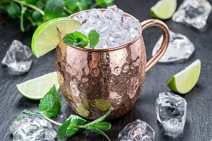 Cocktail Moscow Mule.