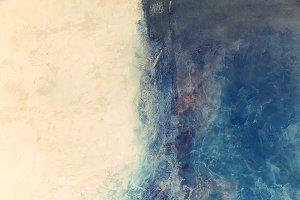 Modern art. Contemporary art. Artistic wall paint.