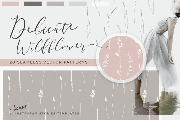 The Romantics - Patterns Bundle in Patterns - product preview 1