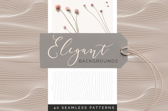 The Romantics - Patterns Bundle in Patterns - product preview 6